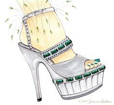 Joanna Baker - Fashion Art Design Creative Blog: Fantasy Shoe...