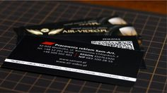 Wizytówka dwustronna promocja agencji reklamowe SamArt