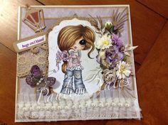 Bestie card by Pauline Yates