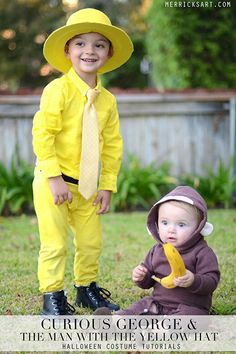 Curious George and the Man with the Yellow Hat-- too cute!