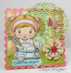 La-La Land Crafts Blog: Inspiration Monday~~In Stitches (real or faux stitching)