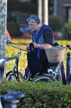 Staphorst Lady 3 by OrangUtanSam, via Flickr #Overijssel #Staphorst