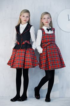 Best back to school dress by #Papiliokids 2014- 2015 Fall- Winter School Collection