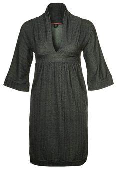 KIMONO - Jerseykleid - black