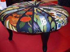 josef frank stool Josef Frank, Fiber Art, Stool, Chairs, Printing, Textiles, Quilts, Interior Design, My Favorite Things