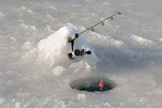 Ice Fishing - something I want to try once in my life.  :)