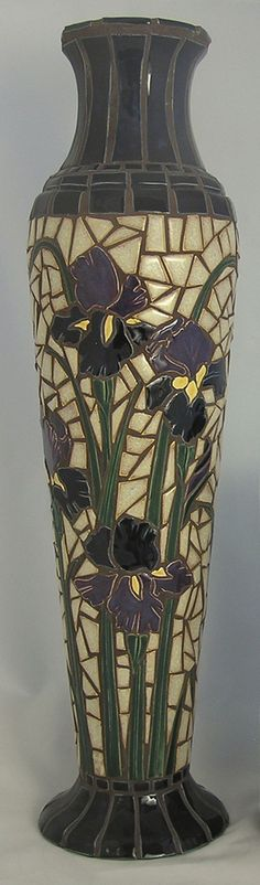 Mosaic Art Handmade Ceramic Tile Spring by HouseofWhisperingFir. Gorgeous!