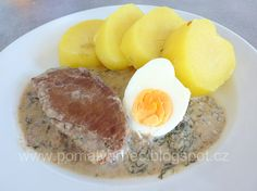 Koprová omáčka v pomalém hrnci Multicooker, Eggs, Breakfast, Food, Morning Coffee, Egg, Meals, Yemek, Eten