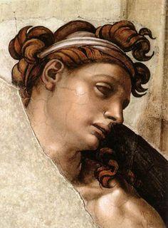 MICHELANGELO Buonarroti  1509  Fresco  Cappella Sistina, Vatican