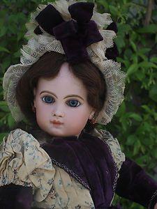 Stunning Antique French Tete Jumeau Depose Doll E12J 1885 | eBay