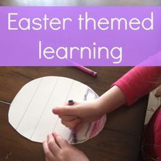 Easter themed learni
