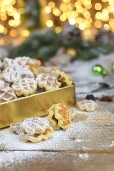 Spekulatius Waffelplaetzchen - Speculoos Waffle Christmas Cookies (23)