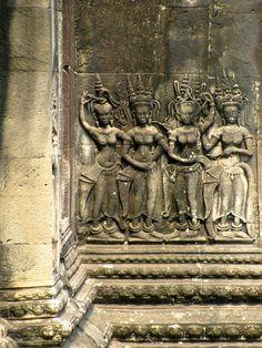 Angkor Wat . Cambodia Ancient Ruins, Ancient Art, Laos, Ancient Architecture, Garden Architecture, Machu Picchu, Angkor Wat Cambodia, Temple India, Khmer Empire