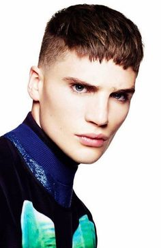 100 Cool Ways to Rock the Man Fringe Hairstyle - The Trend Spotter #menshairstylesroundface