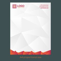 Modern Letterhead Design Pixshark Images Galleries With Business