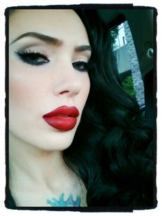 Micheline Pitt aweseome model and makeup artist!