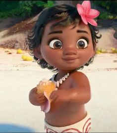 """Baby is the cutest ever 😍"" Disney Pixar, Baby Disney Characters, Disney Animation, Disney And Dreamworks, Disney Art, Animation Movies, Walt Disney, Fictional Characters, Festa Moana Baby"