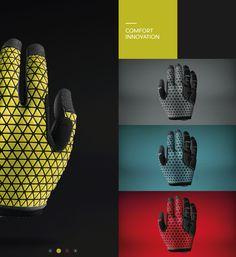 MTB spring gloves on Behance