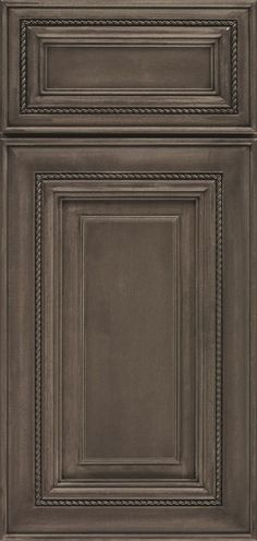 Smokey Hills is a rich, graphite gray cabinet stain on Maple, with slightly warm undertones.