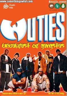 Wuties: Gangsta Breakfest I Love Music, Kinds Of Music, Music Is Life, Wu Tang Collection, East Coast Hip Hop, Gangster Rap, Freestyle Rap, Old School Music, Still Love Her
