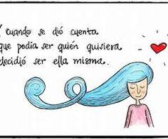 Resultado de imagen para diario de julieta ilustraciones Like Me, My Love, Strong Women Quotes, Better Life, Woman Quotes, Happy Life, Psychology, Believe, Jokes