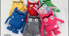 Monster Activities, Eyfs Activities, Craft Activities For Kids, Crafts For Kids, Emotions Preschool, Monster Box, Social Emotional Activities, Coin Couture, Colors And Emotions