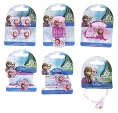 Little girls will love fixing their hair with Frozen themed hair accessories from Risus Wholesale!