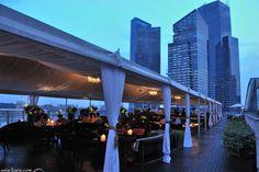 ROOFTOP BARS! Lantern Bar at The Fullerton Bay Hotel, Singapore » Retail Design Blog