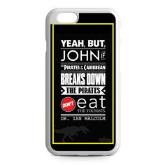 Jurassic Park Quotes iPhone 6 Case