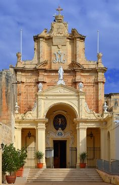 The church of Tal-Herba in the town of Birkirkara in Malta
