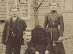 Classic Fake: Buckley Family Photo