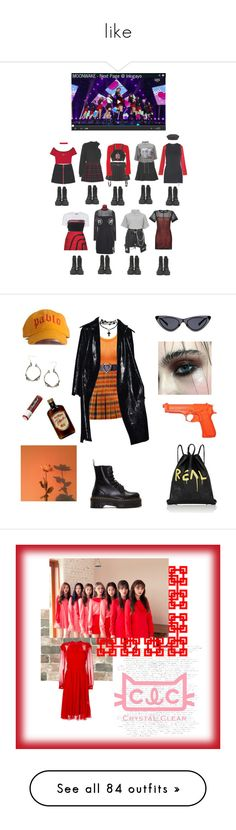 """""""like"""" by mikasahino ❤ liked on Polyvore featuring The Fifth Label, Alexander Wang, Sandro, MSGM, Hood by Air, French Toast, M.Y.O.B., Prada, River Island and T By Alexander Wang"""
