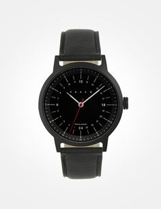 16fbb6a24488 A 24h full black watch you ll love to wear. Featuring an inner 24h