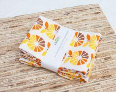 Eco-Friendly Large Cloth Napkins - Set of 4 - (N1063)