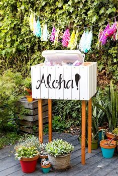 You have to keep the drinks cold one way or another, so you might as well do it in style. Build a festive cooler stand for easy entertaining.