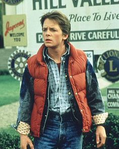 Temporal Mechanics in TV and the Movies Michael J Fox as Marty McFly in a scene from the 1985 movie 'Back to the Future'