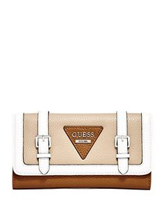 GUESS Women's Cloverly Slim Wallet
