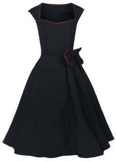 $5 retro dresses plus size clothes large dress long stretch cotton fabric cocktail club wear sexy novelty elegant black blue red $27.00 $5 Deal