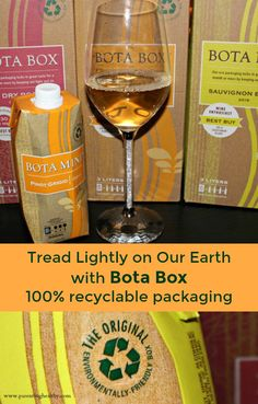 Eco Friendly Boxes Wine Packaging from Bota Box #ad #GoBota #ExploreEverything