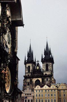 A somewhat Gothic view of Prague  (via rob-sheridan.com photography: prague, czech republic)