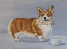Pembroke Welsh Corgi -- Art Helping Animals
