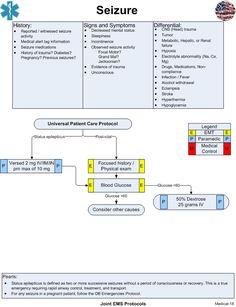 Seizure | Joint EMS Protocols