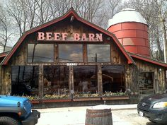 Home: Beef Barn. This restaurant is located in my hometown of North Smithfield, RI. They have the best roast beef sandwiches!