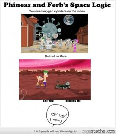 Phineas and Ferb's Space Logic