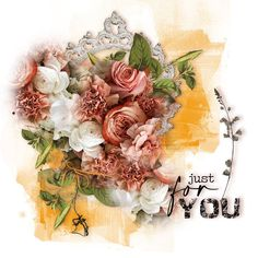 Just For You ~ Bundle by TirAmisu design Digital Scrapbooking Layouts, Tiramisu, Design, Tiramisu Cake
