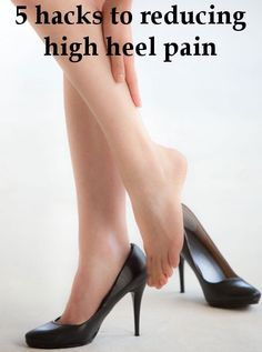 There are some absolute reasons for wearing heels — anything else would be fashion paux pas. However for most women, high heels equal high… Kitten Heels, High Heels, Hacks, Clouds, Fit, How To Wear, Shoes, Women, Fashion