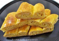 Placinta cu branza sarata - Bunătăți din bucătăria Gicuței Snack Recipes, Cooking Recipes, Snacks, Apple Pie, Tart, Chips, Food And Drink, Bread, Desserts
