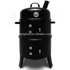 New Black Steel Outdoor Cooking Bbq Garden Charcoal Grill Barbecue Smoker - Buy Barbecue Smoker,Bbq Grill Barbecue Smoker,Outdoor Smoker Product on Alibaba.com