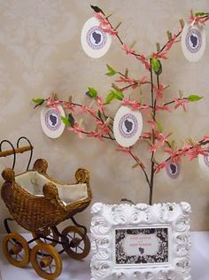 mommy advice tree - baby shower