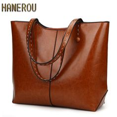 bc6a7e86b88 Autumn New PU Leather Women Bag Female Shoulder Bags 2018 New Vintage  Designer Handbags High Quality Famous Brands Tote Bag